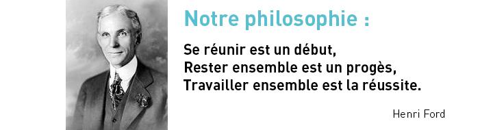 philisophie réseau 4TRO