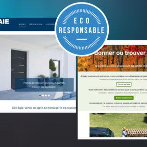 Clic baie et Montasdebois.fr, des initiatives d'économie durable au service du bâtiment